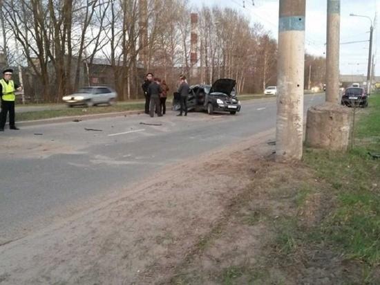 В Саранске в аварии с участием маршрутки пострадала пожилая женщина