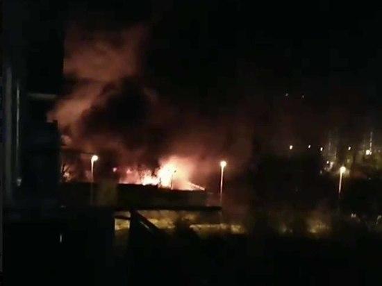В Щербинке сожгли 15 автобусов: пассажиры критиковали частного перевозчика