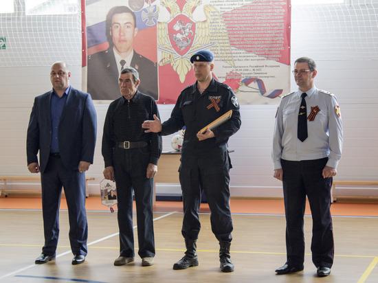 В Курской области состоялся турнир по мини-футболу в память погибшего бойца СОБР