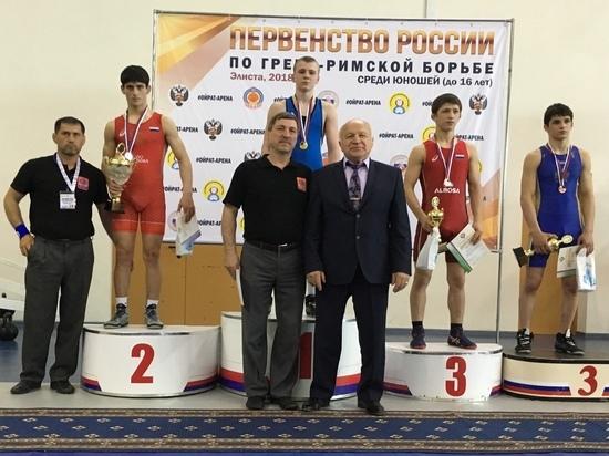 Тамбовчанин стал победителем первенства России по греко-римской борьбе