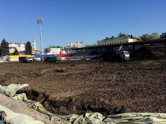 Реконструкция тамбовского стадиона