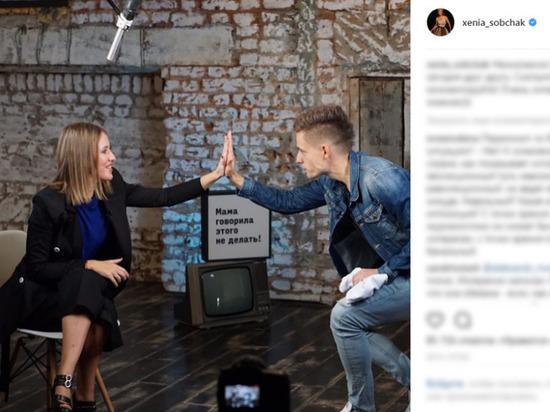 Дудь и Собчак высмеяли телеинтервью Машкова