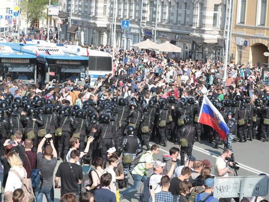Акция Навального в Москве превратилась в «догонялки» с полицией