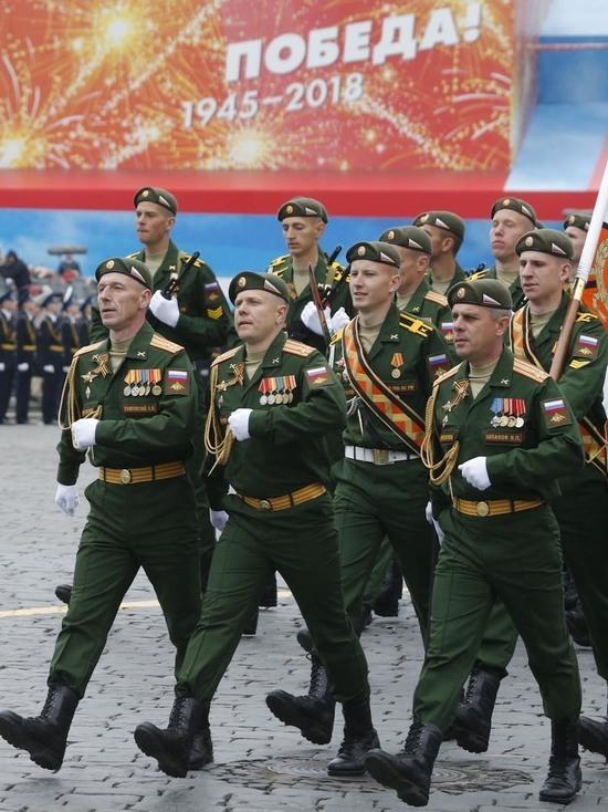 Генеральная репетиция парада в Москве прошла успешно, зрителей было много
