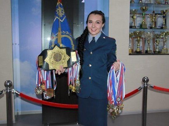 Жительница Ульяновска завоевала серебро на чемпионате ФСИН по рукопашному бою