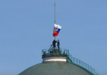 На инаугурации Путина не поднялся штандарт президента