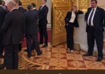 Скучающую на инаугурации Путина Поклонскую превратили в новый мем