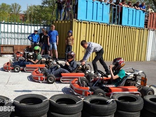 В Котовске прошли соревнования по картингу