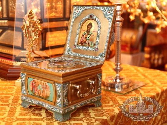 В Тамбов прибудет ковчег с частицей святых мощей святителя Спиридона