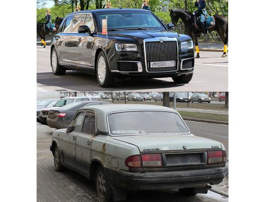 В Сети обсудили странный госномер путинского лимузина «Кортеж»