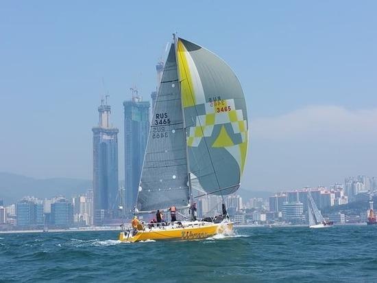 Четыре медали увезли с Южной Кореи приморские яхтсмены