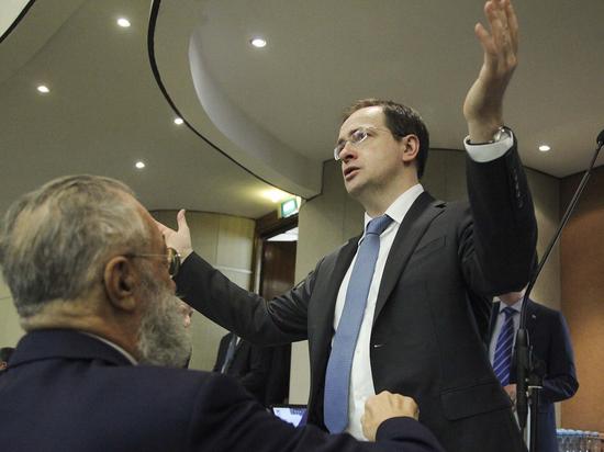 Владимир Мединский оценил свои шансы сохранить министерский пост