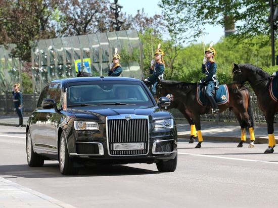 Стали известны характеристики и название нового лимузина Путина