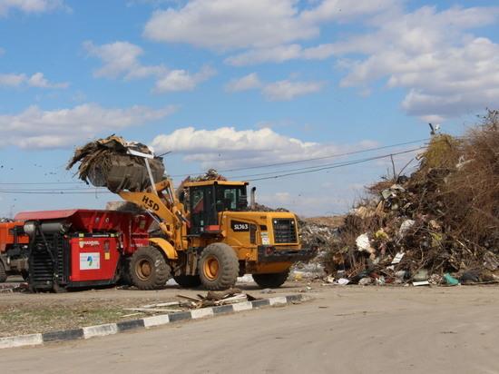 Более 40 000 кубометров крупногабаритных отходов оправились на экологически безопасное захоронение