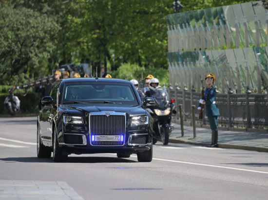 Путин оценил свой новый лимузин проекта