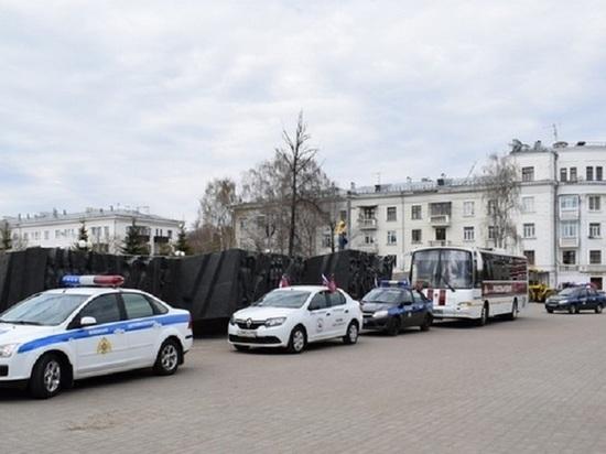 В Татарстане финишировал автопробег Росгвардии «Вахта Памяти. Сыны Великой Победы»