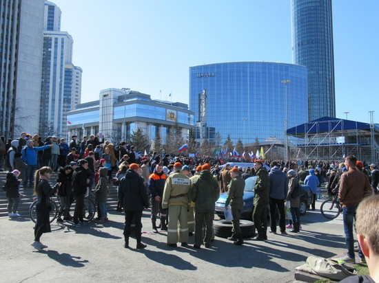 Странные протесты: состав участников уличных акций в Екатеринбурге вызывает много вопросов