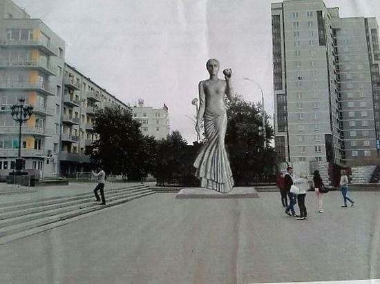 Екатеринбургский художник предложил установить в Москве «символ России»
