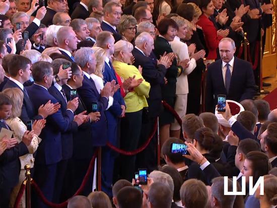 На инаугурации Путина присутствовали три астраханца: губернатор, актер и кавээнщик