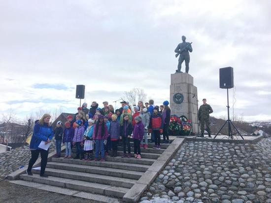 Торжественные мероприятия в честь Дня Победы состоялись в Киркенесе