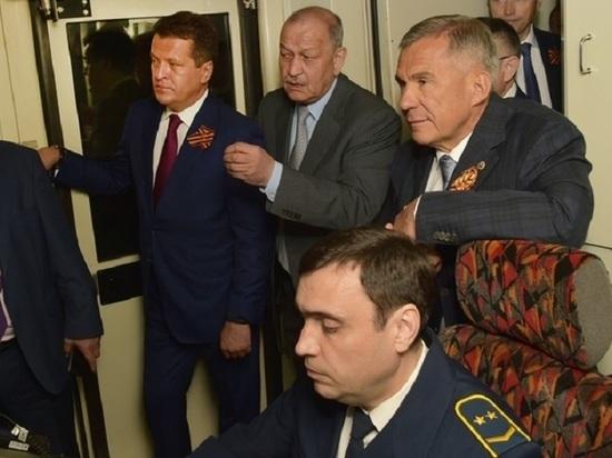 Президент Татарстана осмотрел станцию метро «Дубравная»