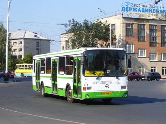 Общественный транспорт на 9 мая будет перевозить тамбовчан бесплатно
