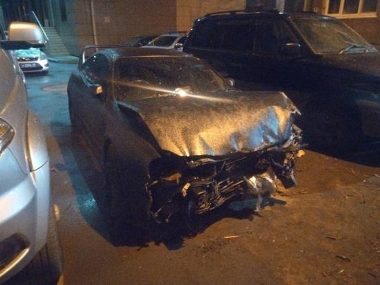 Пьяный водитель протаранил ТЦ «Рублев»