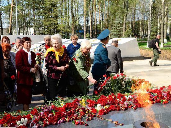 Кострома отметит День Победы шествием, митингом, концертом и салютом