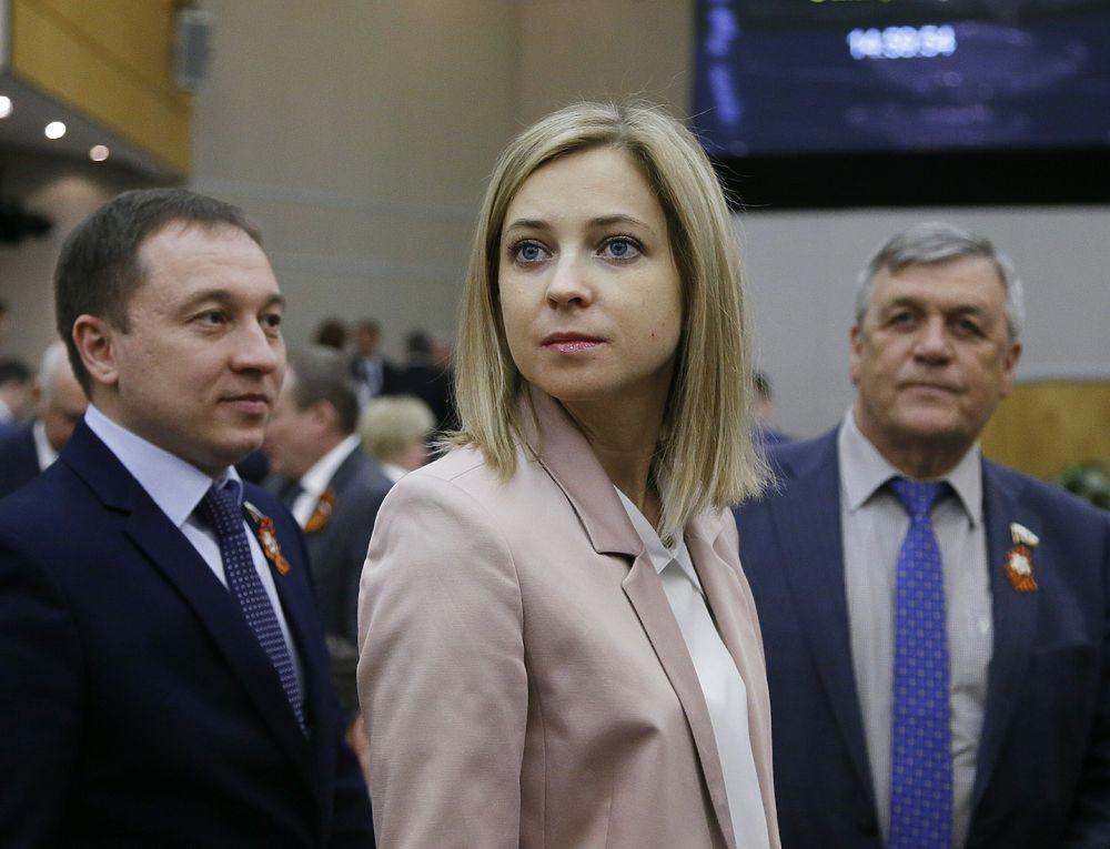 Поклонская, Валуев и другие на утверждении Медведева премьером