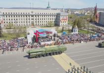 В Иркутске проходят торжества, посвященные Дню Победы