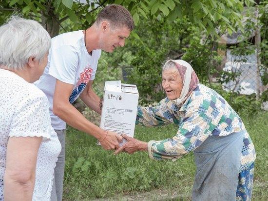 «Золотая Балка» порадовала ветеранов подарками ко Дню Победы
