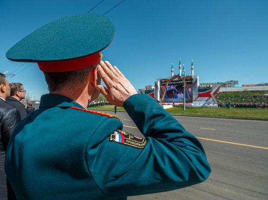 Казань при полном параде