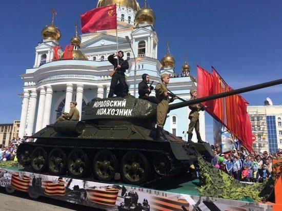 В Саранске прошел парад Победы
