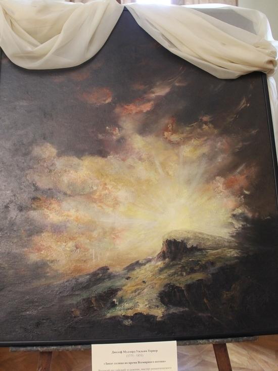 «Заход солнца во время Всемирного потопа» можно увидеть в Феодосии