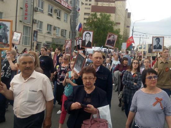Шествие «Бессмертного полка» объединило несколько тысяч оренбуржцев