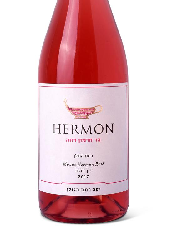 Специально к празднику Шавуот:  «Рамат а-Голан» представляет первое розовое вино в серии «Ар Хермон»