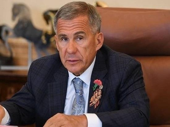 Акцию «Красная гвоздика» открыл президент Татарстана