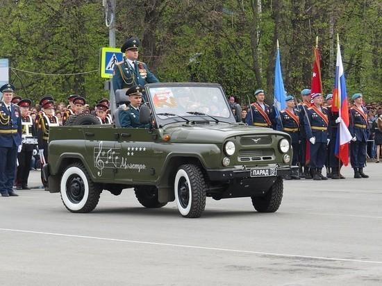 В Ульяновске прошел парад Победы