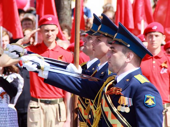 Росгвардейцы Мордовии приняли участие в параде Победы
