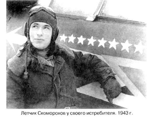 Памятник легендарному лётчику-истребителю Николаю Скоморохову был установлен в Астрахани