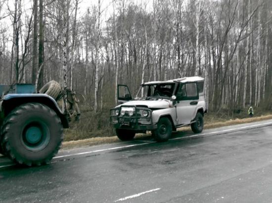 Уралец перевернулся на угнанной машине