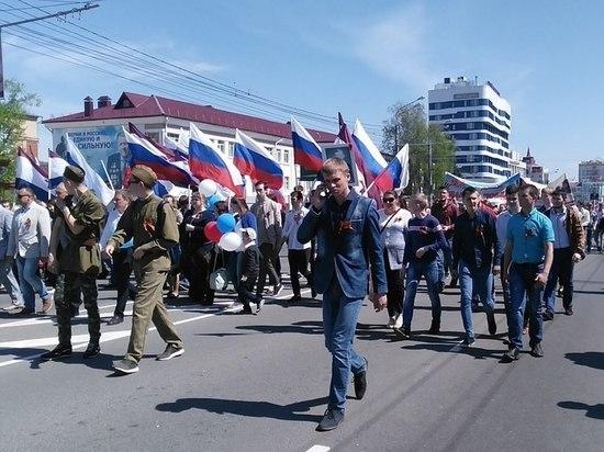 Жители Саранска спели «День Победы» в супермаркете