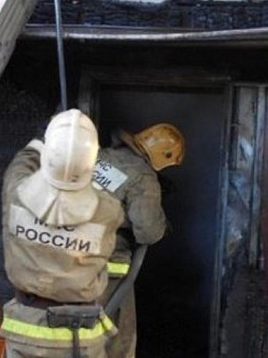 В поселке Ленина Оренбургского района сгорел жилой дом