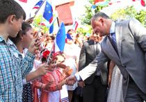 Президент страны совершил поездку по южному региону Молдовы