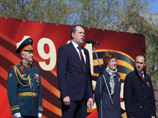 Первый заместитель Губернатора Антон Кольцов поздравил череповчан с Днем Великой Победы
