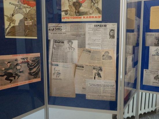 В Ставрополе открылась выставка «Боевой карандаш»