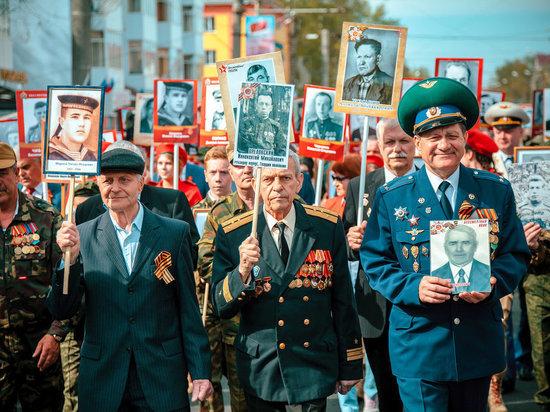 В Саранске под знамена Бессмертного полка встал каждый десятый