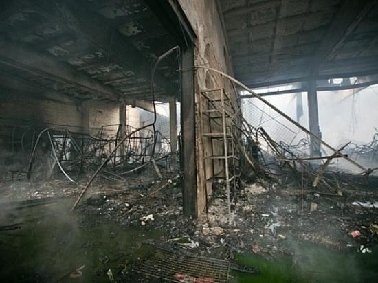 В Оренбурге сумму ущерба от пожара в ТК «Мир» оценили в 70 миллионов рублей