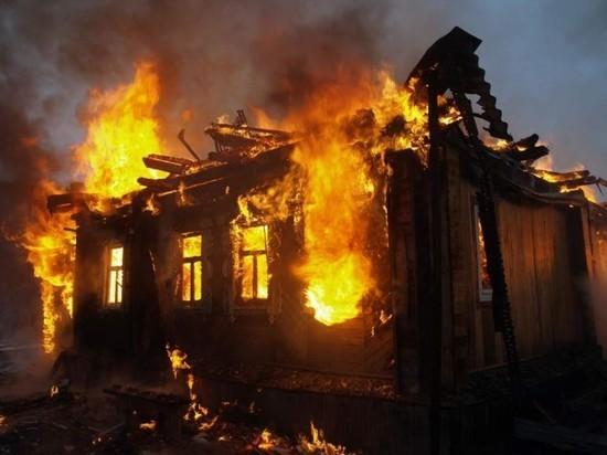 При пожаре в доме на севере Тамбова погибла женщина