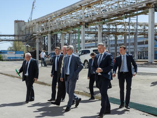 Перспективы моногорода: врио губернатора оценил промышленный потенциал Россошанского района